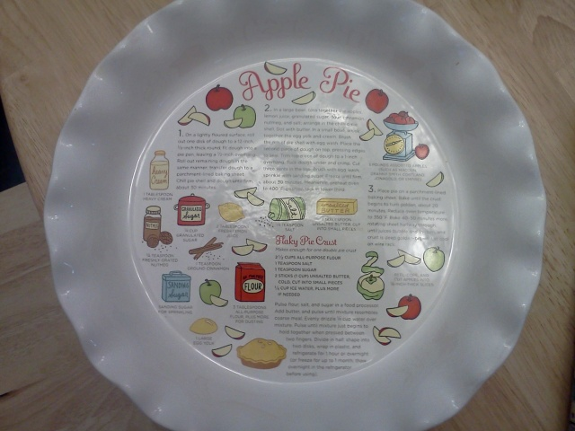 apple pie dish