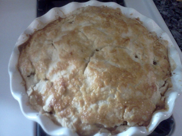 done apple pie