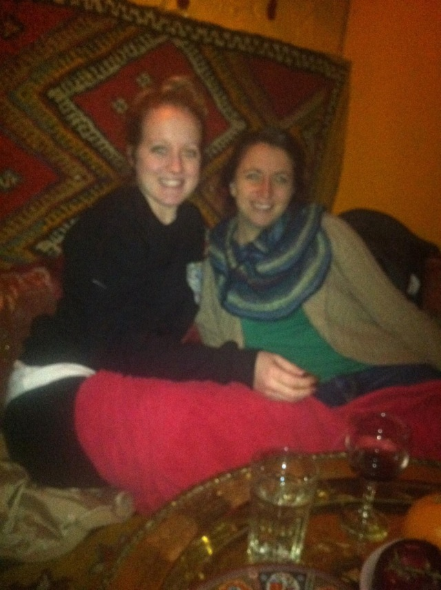 with kayla