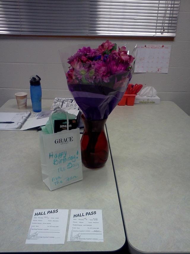 blog post birthday flowers