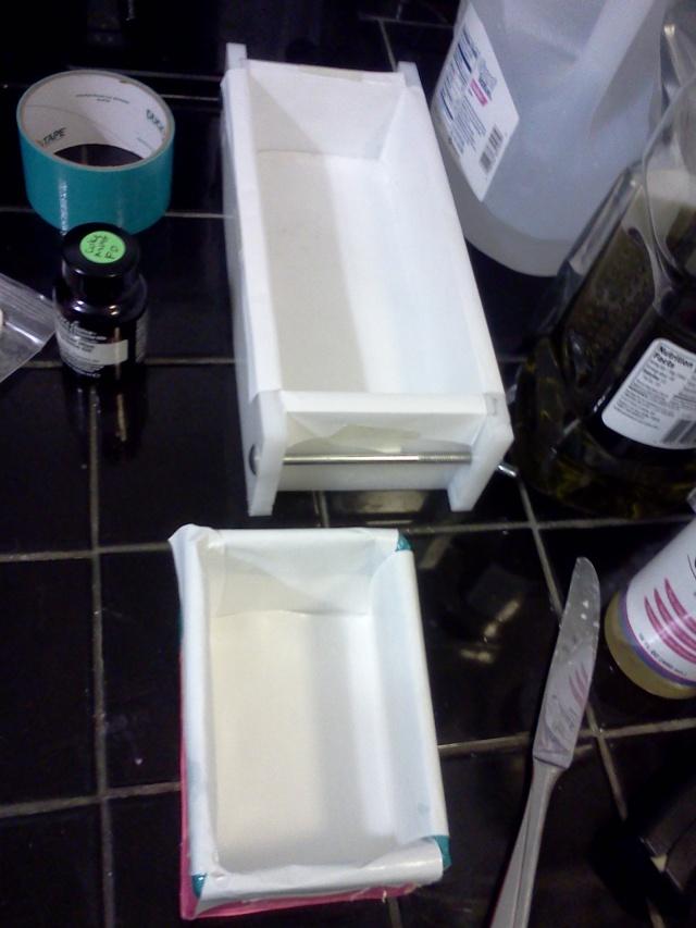 soap holding bins